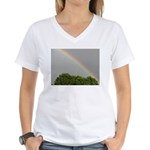 RAINBOW MAGIC™ Women's V-Neck T-Shirt