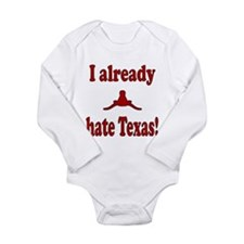 Cute Sooners Long Sleeve Infant Bodysuit