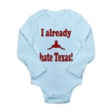 Unique Ou sucks Long Sleeve Infant Bodysuit