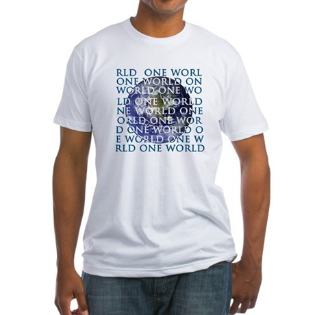 One World Fitted T-Shirt