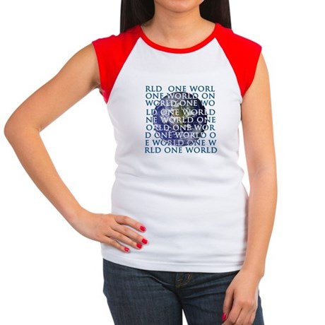 One World Women's Cap Sleeve T-Shirt