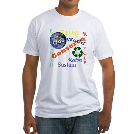 Conserve Fitted T-Shirt