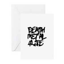 Death Metal 4 Life Greeting Cards (Pk of 10)