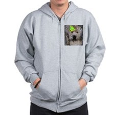 Party Animal Wheaton Terrier Zip Hoodie