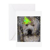 Party Animal Wheaton Terrier Greeting Card
