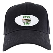 Musky fish on Baseball Hat