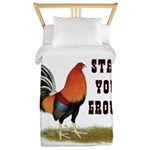 Stand Your Ground Rooster Twin Duvet