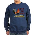 Stand Your Ground Rooster Sweatshirt (dark)
