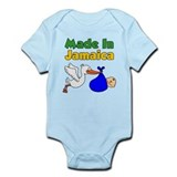 Made In Jamaica Boy Infant Bodysuit