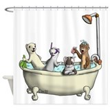Rub a Dub Tub Shower Curtain