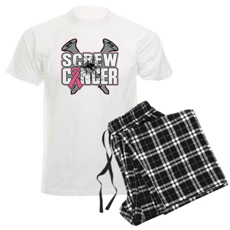 Screw Breast Cancer Men's Light Pajamas