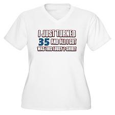 35 birthday designs T-Shirt