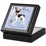 Rat Terrier Keepsake Box