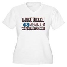 48 birthday designs T-Shirt