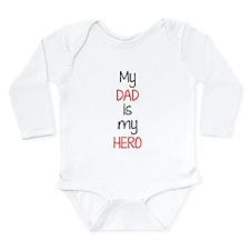 Hero dad Long Sleeve Infant Bodysuit