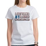 81 birthday designs Tee