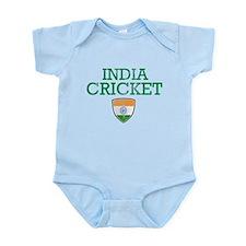 India Cricket designs Infant Bodysuit
