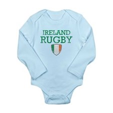 Ireland Rugby designs Long Sleeve Infant Bodysuit