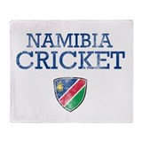 Namibia Cricket designs Throw Blanket