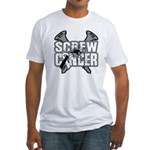 Screw Carcinoid Cancer Fitted T-Shirt