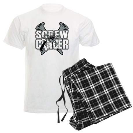 Screw Carcinoid Cancer Men's Light Pajamas