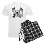 Screw Carcinoid Cancer Men's Light Pajamas