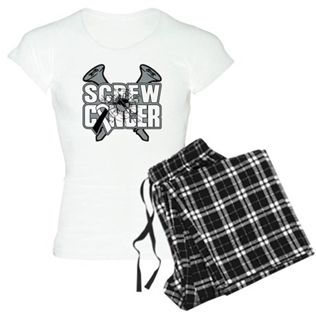 Screw Carcinoid Cancer Women's Light Pajamas