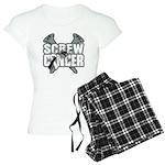 Screw Carcinoid Cancer Women's Light Pajamas