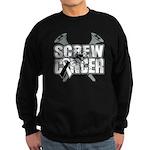 Screw Carcinoid Cancer Sweatshirt (dark)