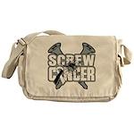 Screw Carcinoid Cancer Messenger Bag