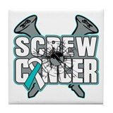 Screw Cervical Cancer Tile Coaster