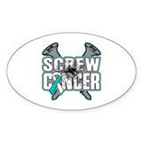 Screw Cervical Cancer Decal