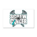 """Cervical cancer 12"""" x 20"""""""