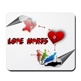 Love really hurts Mousepad