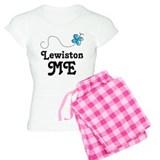 Lewiston Maine Gift pajamas