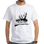 Muzzle Loader hunter White T-Shirt