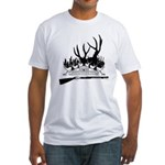 Muzzle Loader hunter Fitted T-Shirt