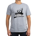 Muzzle Loader hunter Men's Fitted T-Shirt (dark)