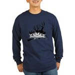 Muzzle Loader hunter Long Sleeve Dark T-Shirt