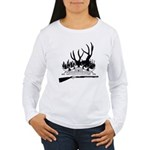 Muzzle Loader hunter Women's Long Sleeve T-Shirt