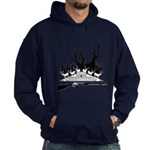 Muzzle Loader hunter Hoodie (dark)