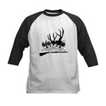 Muzzle Loader hunter Kids Baseball Jersey