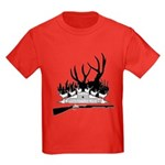 Muzzle Loader hunter Kids Dark T-Shirt