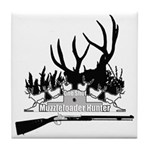 Muzzle Loader hunter Tile Coaster