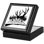 Muzzle Loader hunter Keepsake Box