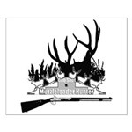 Muzzle Loader hunter Small Poster