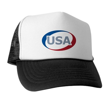 USA Oval: Trucker Hat