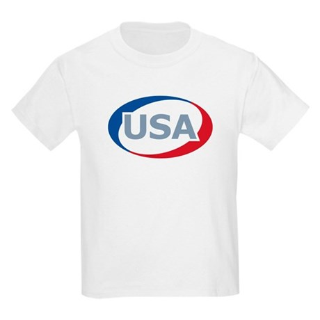 USA Oval: Kids T-Shirt