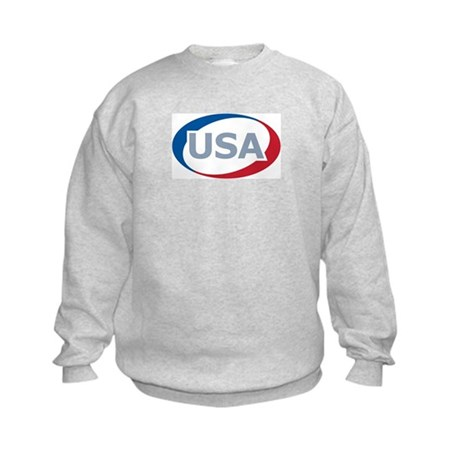 USA Oval: Kids Sweatshirt