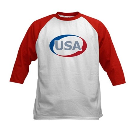 USA Oval: Kids Baseball Jersey